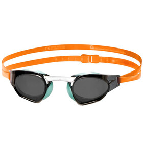 speedo Fastskin Prime Mirror Goggle Jaffa Orange/Peppermint/Smoke